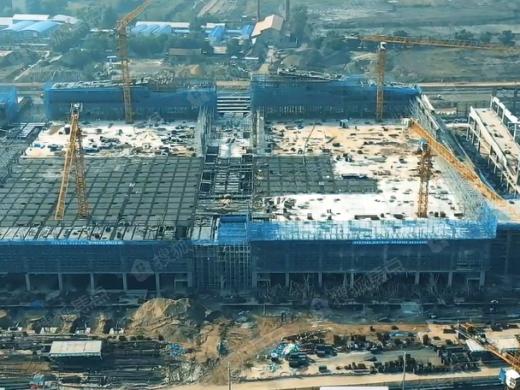 松北会展中心最新工程进展曝光 周边项目动态公开