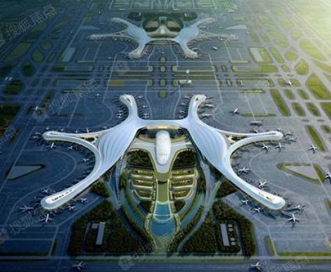 新机场配套工程全面开工!双机场时代即将来临