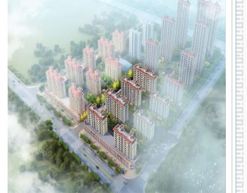 宏锦•万花城小区《建设工程规划许可证》核发批前公示