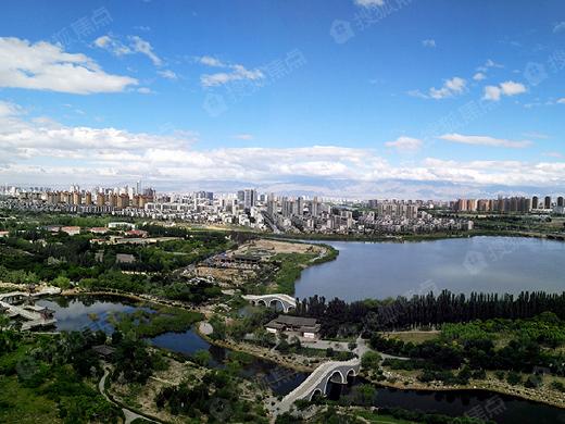 园林绿化成为楼盘取胜的关键点 一起看看银川那些低密度住宅!