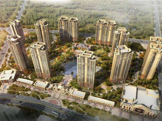 恒大御湖庄园,恒大地产首入西充县打造城市舒居生活新标杆