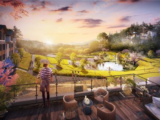 用院子收藏仙女山 武隆归原小镇首期项目即将面世
