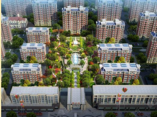 品质最高,规模最大,业态最全,生活最为便利的居住小区之一