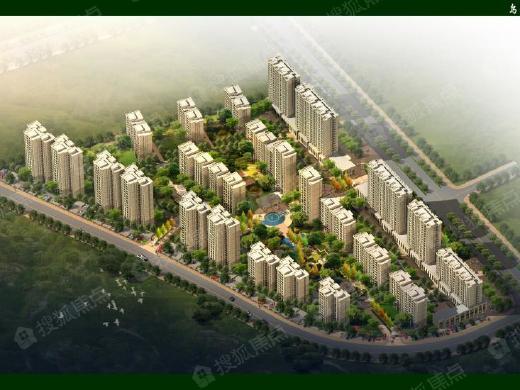 东平县的住宅核心地段。