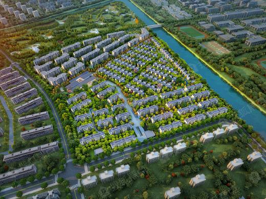 上海崇明中信泰富仁恒海和院
