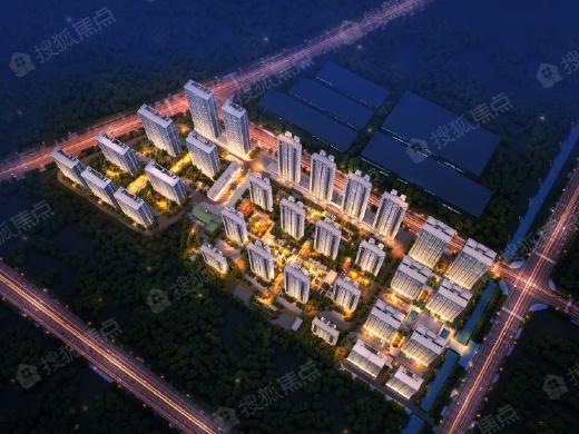 鸿海城高层在售 面积约88-103㎡