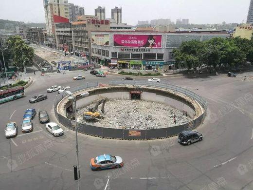 绵阳地标建筑结束23年历史,拆除完毕!