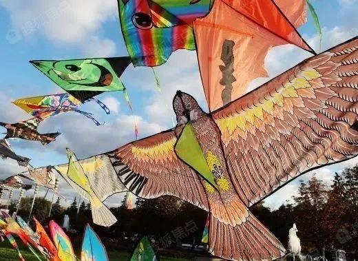 又是一年三月三风筝飞满天,银堤漫步业主风筝节3.15全面启动