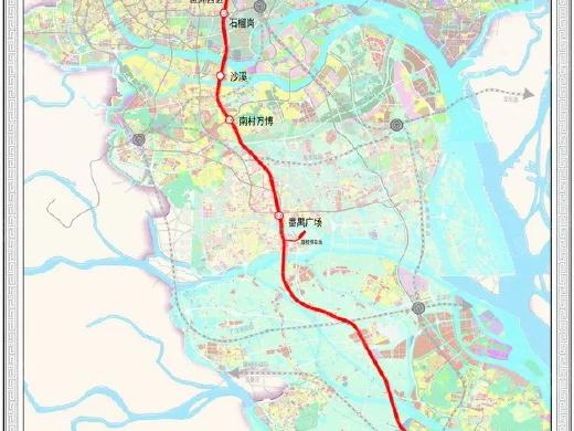 广州最快地铁重大进展,首次S型穿过珠江!