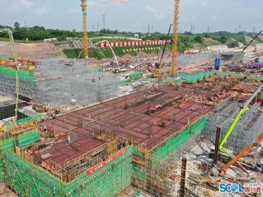 明年6月30日!川南城际铁路内自泸段开通运营
