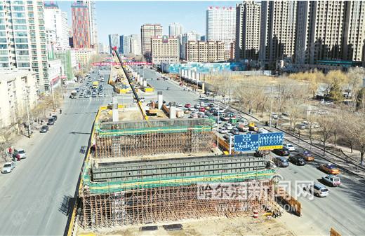 东二环高架桥复工年底建成 打造快速交通体系沿线受益