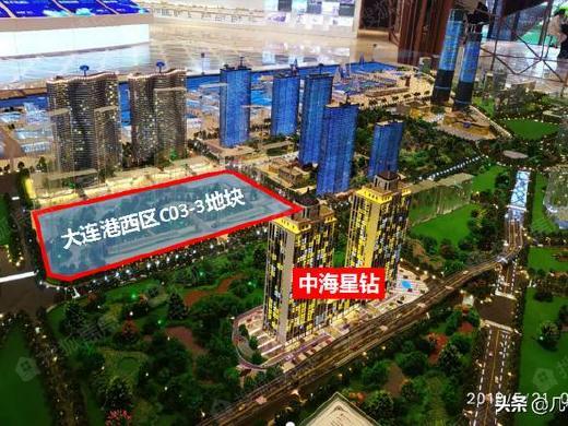 大连湾海底隧道南侧再出新规划 这个位置建8栋公寓 最高39层