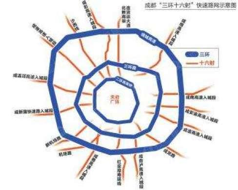 成都三环路再有大动作 设102公里公交专用道