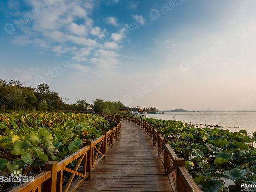 眼前的不止明?#29281;?#28246;光,还有你和远方——武汉湖景房推荐