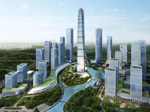 金融城板块再添中国人保!新CBD初具规模