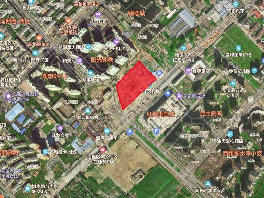 道里主城区又将添新盘! 面积约18300平米紧邻红星美凯龙
