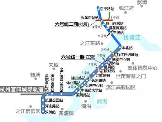 地铁6号线二期开建 城东7盘将迈入地铁时代