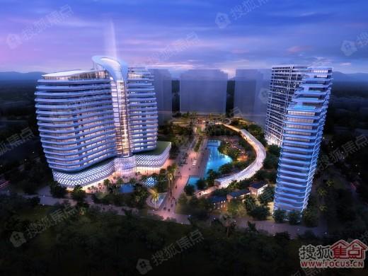 三亚25度海湾一号1#、2#、5#和6#住宅楼预售公告