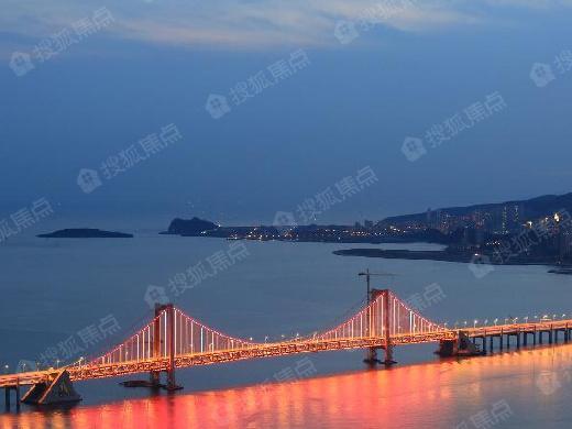 大连南滨大道跨海大桥全规划 五盘将涨价