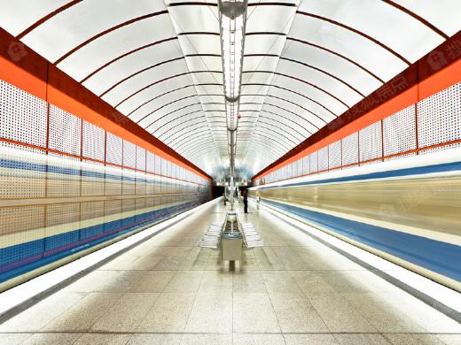 地铁二号线北延线忙装修 坐拥蒲河生态走廊