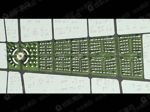 东北总部基地均价为:6900元/平方米