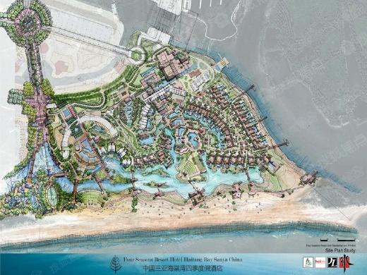 三亚椰子洲岛项目一期产权式酒店预售许可公告
