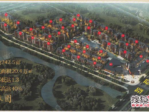 琴潭荷塘湿地公园明年底开放 这些楼盘要火